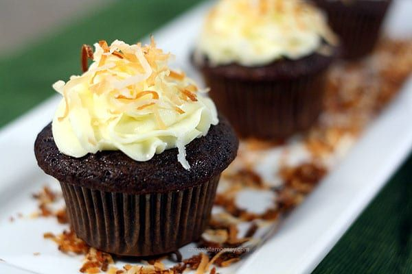 Award-Winning Chocolate Coconut Cupcakes with Coconut Almond Filling and Coconut Milk Frosting will be the best cupcakes you'll ever make (assuming you love coconut of course).