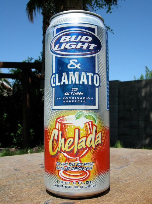 bud light chelada | Bud Light and Clamato! How could I resist that magical combination of ...