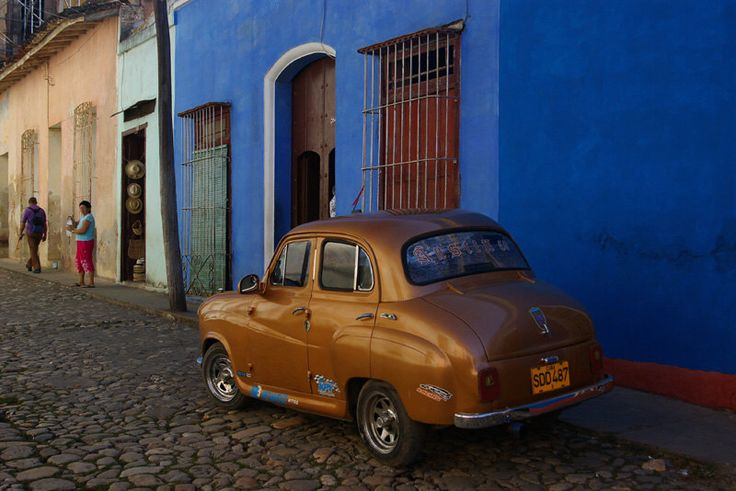 A personal favorite from my Etsy shop https://www.etsy.com/uk/listing/218372105/car-in-cuba-wall-art-home-decor-classic