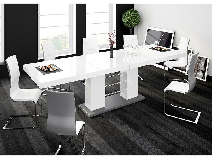 VERITAS - Stół rozkladany o wysokim połysku