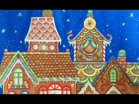 Book Johannas Christmas By Johanna Basford Pencils Prismacolor Numbers 943 Burnt Ochre 914 Cream 945 Sienna Brown 944 Terra Cotta 1082 Chocolate
