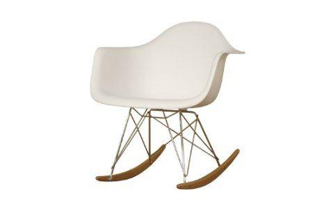 Amazon.com: Baxton Studio Letterio White Cradle Chair $100.96