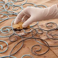≈Do-It-Yourself Project: How to Verdigris ...  This just may be a use for my rebar wire! #DIY #Verdigris