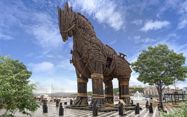 One of the most famous archaeological sites in world -  Archaeological Site of Troy, Turkey