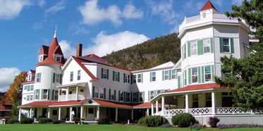 The BALSAMS Grand Resort Hotel in Dixville Notch, New Hampshire