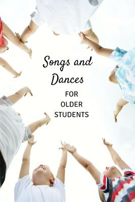 Song and Dance: Three great activities for older students, including two great folk dances and one singing game!