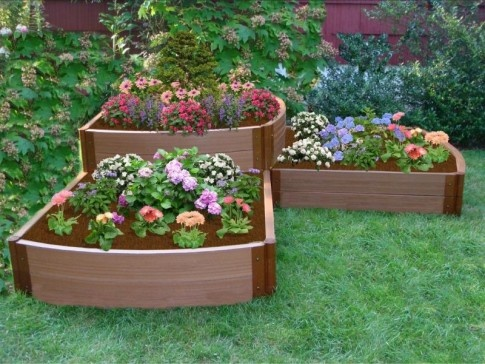 Frame It All ToolFree Classic Sienna Raised Garden Bed 4