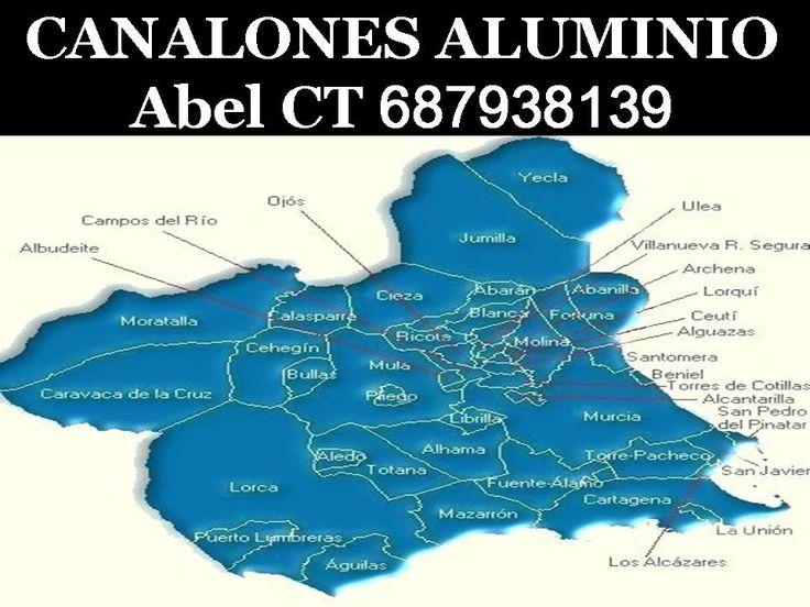 Murcia en Murcia https://www.youtube.com/watch?v=fSHRKPD7koc https://www.youtube.com/watch?v=ZDOsDUgM37c CANALONES Y BAJANTES DE ALUMINIO  Instalación y suministro de canalones de aluminio lacado, cobre natural, zinc  PRESUPUESTO SIN COMPROMISO Y POR ESCRITO EL MEJOR PRECIO Y LA MAYOR CALIDAD Canalones Abel CT 687938139 whatsapp GRACIAS POR CONFÍAR EN NOSOTROS