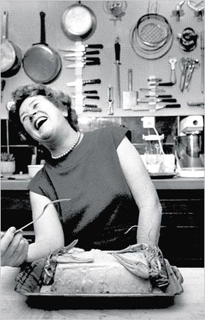 One of our favourites, Julia Child!