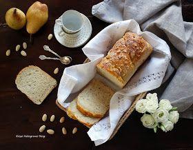 Pan brioche alle pere e mandorle