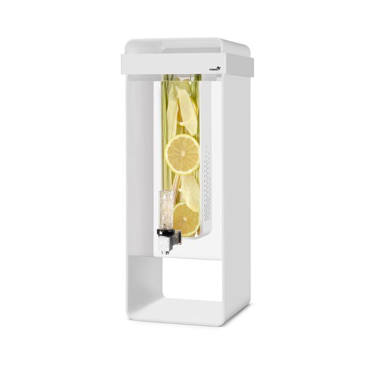 Rosseto Infusion White Acrylic 3-gallon Beverage Dispenser (White)