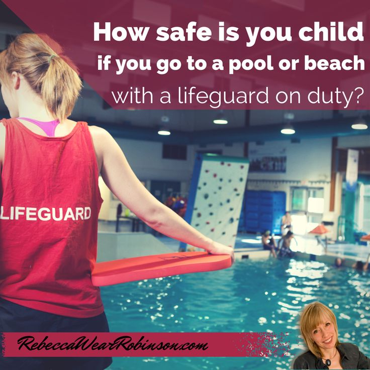 If you swim in an area with a lifeguard, your chance of drowning is reduced to 1 in 18 million. Those are very good odds, even better when you consider that 75% of open water drownings occur when a lifeguard is not present.  Learn what you can do to keep your child safe around water http://www.pediatricsafety.net/2014/08/lifeguard-kids-summer/ #lifeguard #Watersafety #StopDrowning