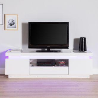 1000 id es sur le th me meuble tv led sur pinterest - Meuble tv en solde ...