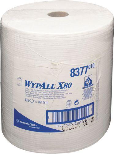 Lavete profesionale reutilizabile WYPALL X80, ideale in mediile industriale aglomerate.