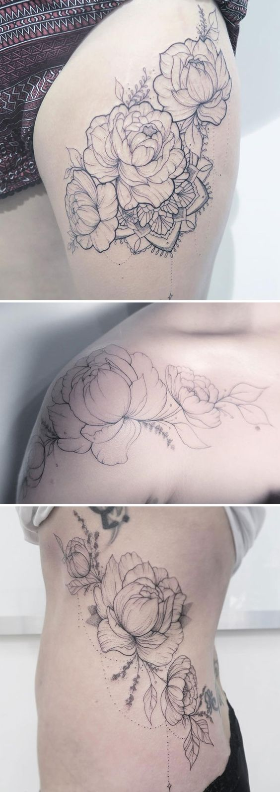 269 best flower tattoos images on pinterest | botany, draw and drawing