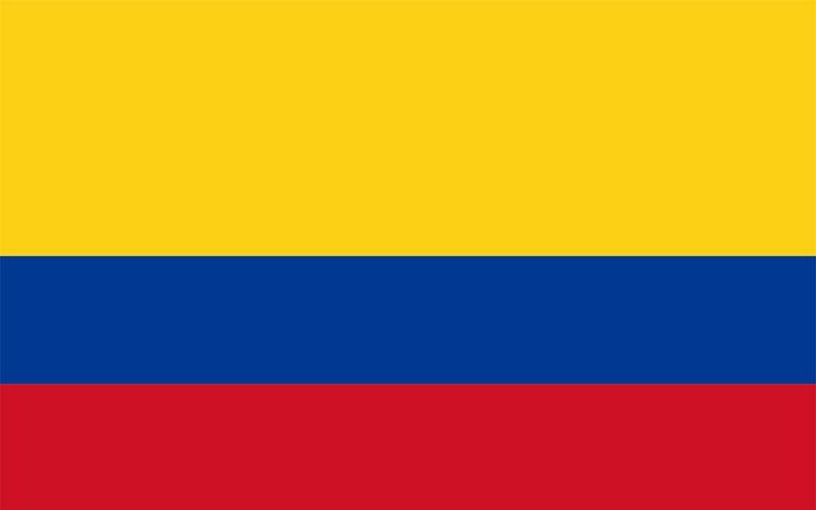 Fondos BlackBerry, Wallpapers. Bandera de Colombia.