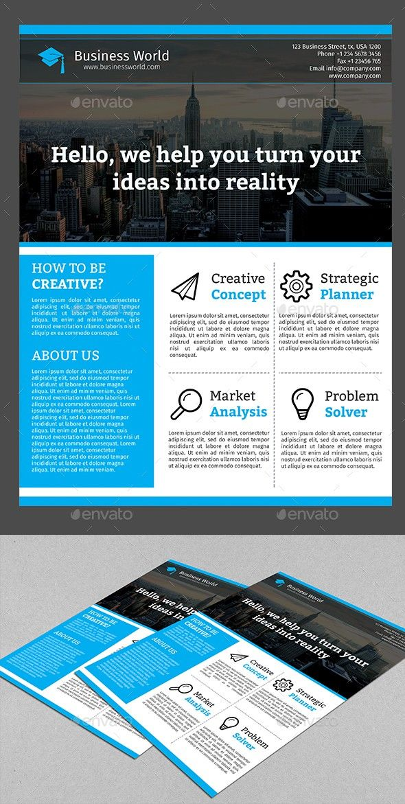flyers design template corporate business flyer design premium