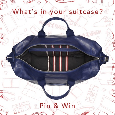 Dear Followers, Bally wants to remind you What's in Your Suitcase's rules.  1- Follow Bally's What's in Your Suitcase board. We will allow you to add pins to this board.  2- Go on www.bally.com   3-Choose your 3 Bally's Must Have (no more than 3)  4- Pin them in Bally's What's in Your Suitcase board, using the hashtag #BallySuitcaseStory  These rules are mandatory to take the chance to win Bally prize. And now, enjoy pinning!