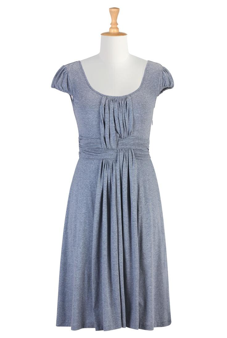 Arbor melange knit dress. $59.95, via eShakti.