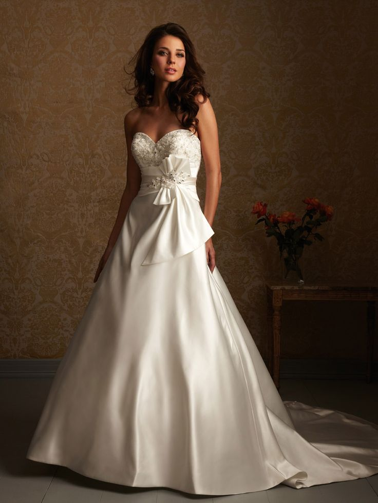 17 best images about off the rack gowns on pinterest for Cheap allure wedding dresses