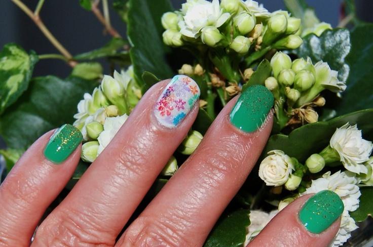 Mejores 61 imágenes de Flower Nails en Pinterest | Uñas de flores ...