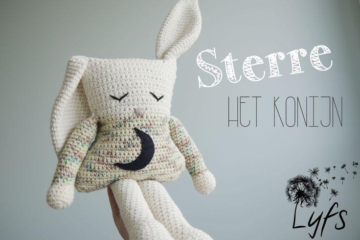 Crochet bunny - Lyfs by Audrey