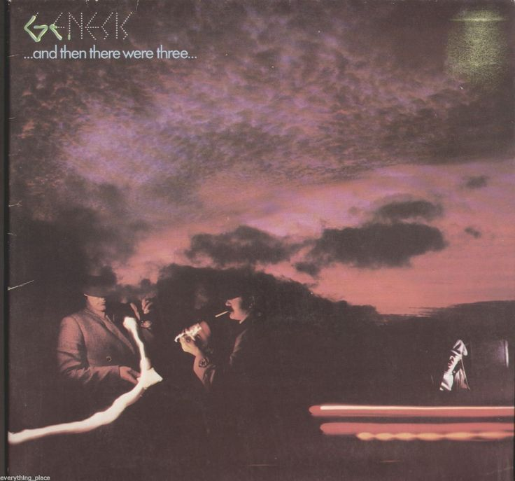 Genesis ...And Then There Were Three... Vinyl LP Record Album