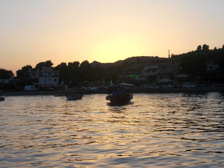 Sunset at St.George (Euboea)