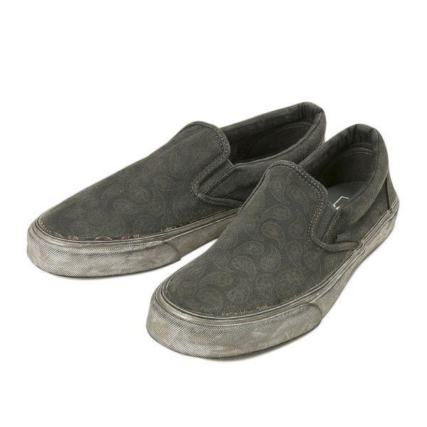 【VANS】 ヴァンズ CLASSIC SLIP-ON + クラシックスリッポン + VN0004OUITI 16SP (O.WASH PAS)BK通販 | ABC-MARTオンラインストア 【公式】靴とスポーツウェアの通販