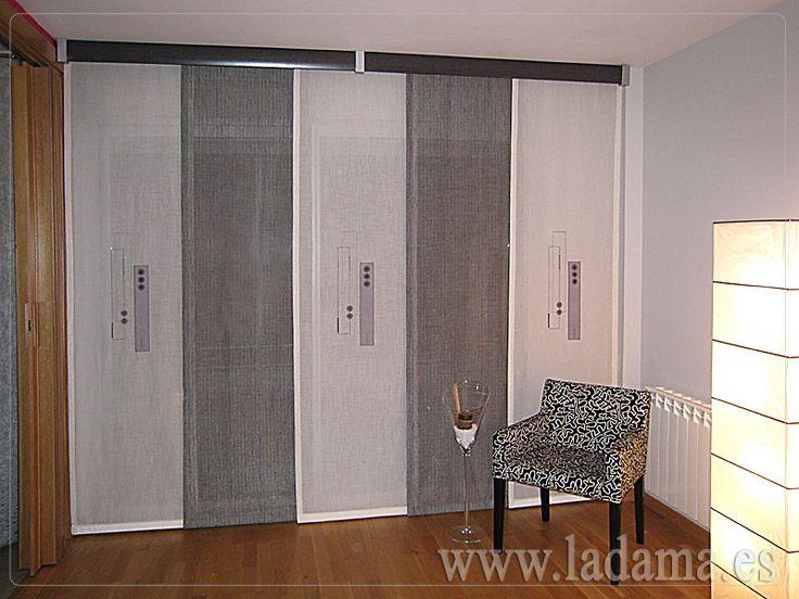 Las 25 mejores ideas sobre paneles japoneses en pinterest - Riel panel japones ikea ...