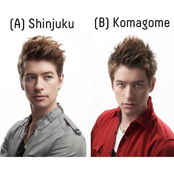 Hairstyle Tournament enters its 2nd Round!  Which hairstyle do you prefer? A or B?