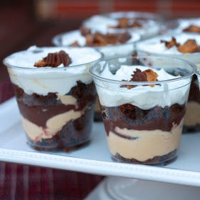 The Sweets Life: Individual Chocolate Peanut Butter Trifles