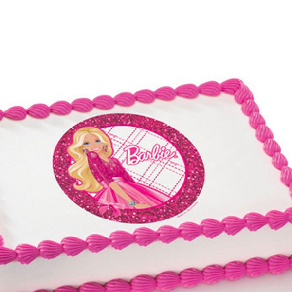 24 best images about cakes on pinterest barbie cake for Number 4 decorations