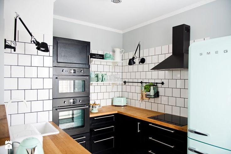 Średnia kuchnia, styl eklektyczny Kuchnia - zdjęcie od SHOKO.design