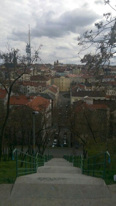 A view from vitkov hill
