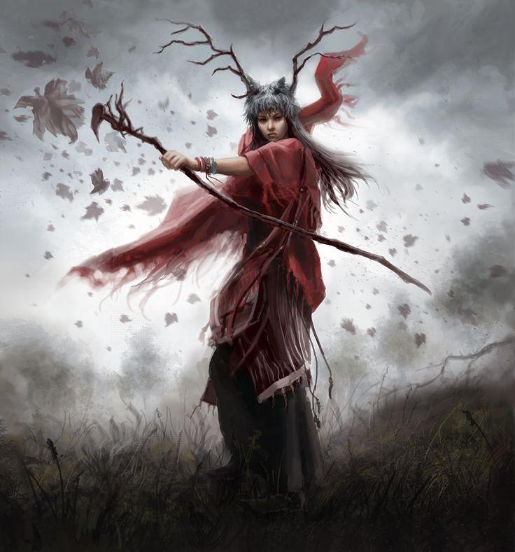 Shaman by *anotherwanderer on deviantART #oracle #witch #shaman