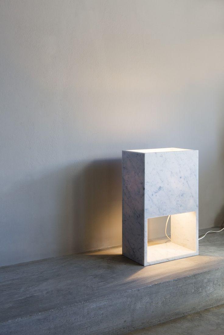Andrew Trotter, Block Lamp - Photo Mari Luz Vidal