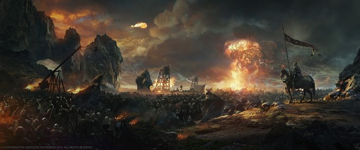Воины Армия Небо Огонь