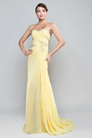 17 Best ideas about Yellow Formal Dress on Pinterest  Military ...