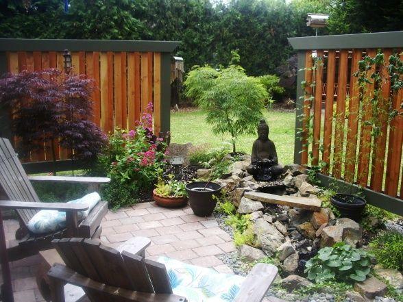 Asian garden landscaping