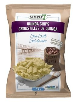 Simply7 Sea Salt Quinoa Chips $4.29 - from Well.ca