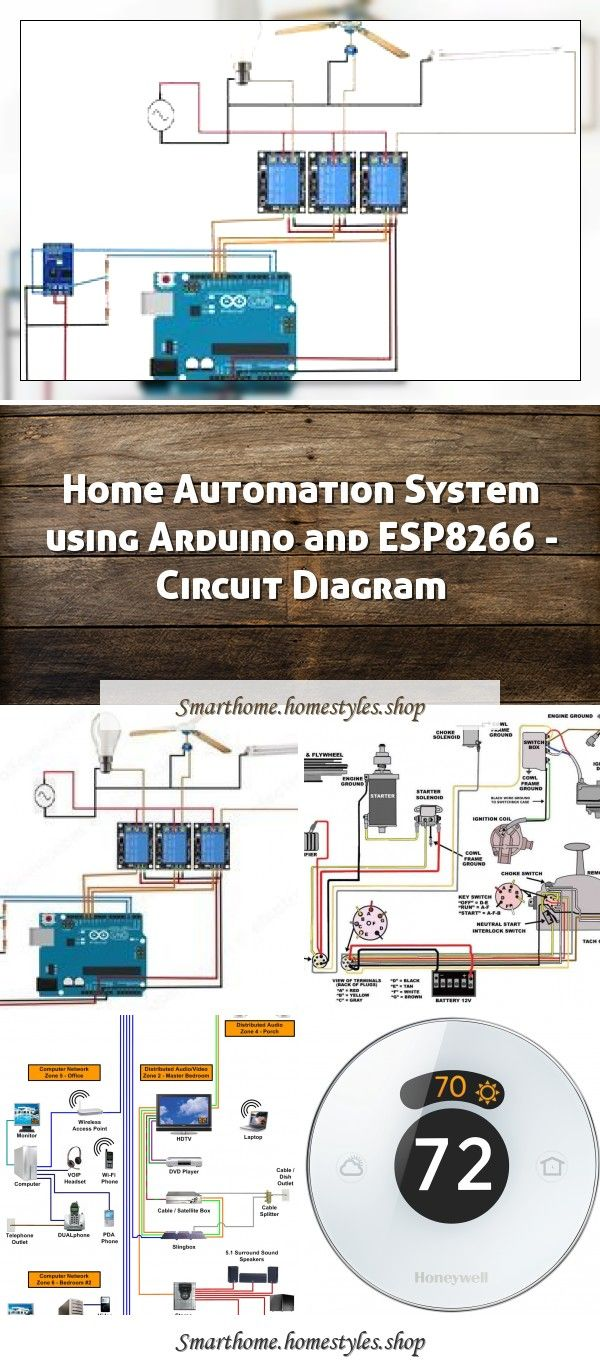 12 Wiring Diagram For Electric Chokes Wiring Diagram Wiringg Net12 Circuit Diagram For Electric Ch In 2020 Home Automation System Circuit Diagram Home Automation