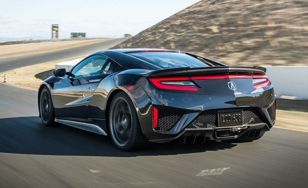 Acura NSX - Car and Driver