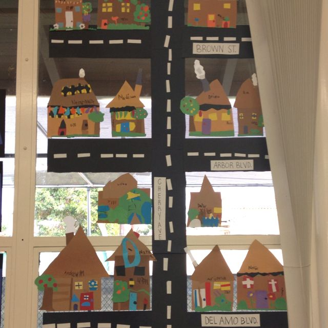 1st grade Social Studies -Neighborhood Unit!