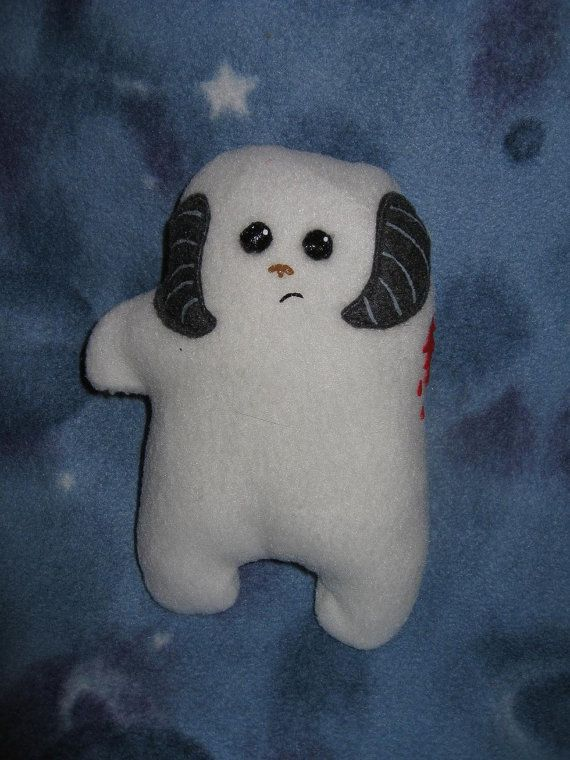 This is what the Wampa looks like AFTER it attacks Luke Skywalker in episode 5. haha:)