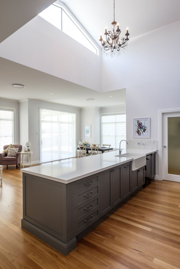 Redbank Display Home I Spacious Kitchen with Dormer Window over Kitchen Benchtop
