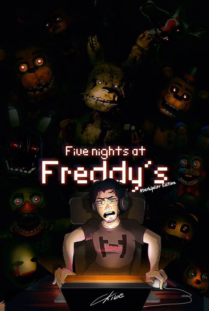 Five Nights At Freddy S Bedroom Decor: Five Nights At Freddy's Markiplier