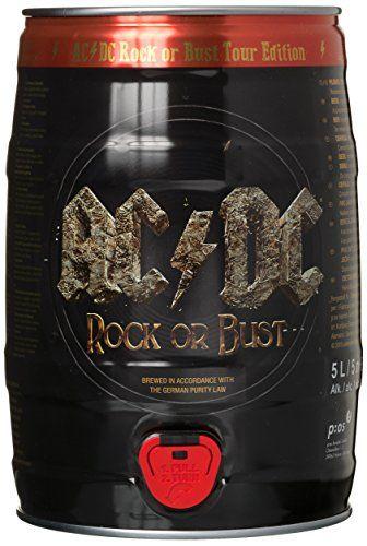 Fût ACDC 5 L: L'un des plus grands groupe de rock au monde, propose aujourd'hui sa propre bière. Une bière légère du type allemande,…