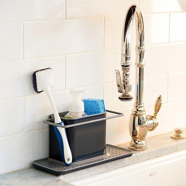 tidy sink caddy in 2020 sink caddy kitchen sink caddy sink pinterest