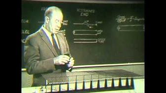 (1) AT&T Archives: Dr. Walter Brattain on Semiconductor Physics (Bonus Edition) - YouTube